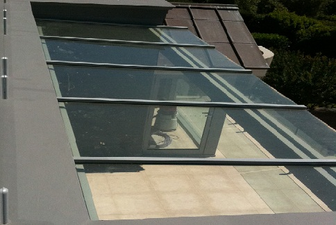 Glass Pergola - Glass Roofs